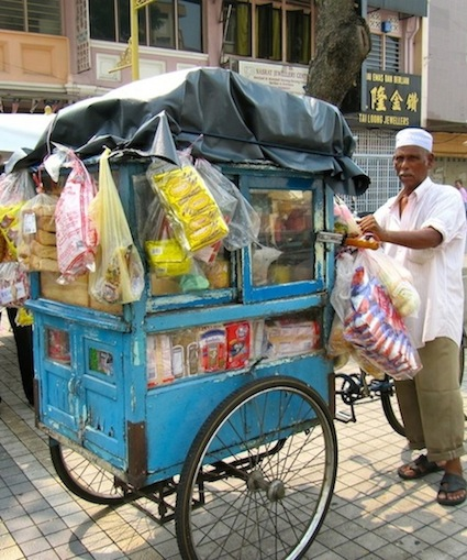 Penang Bread Cart