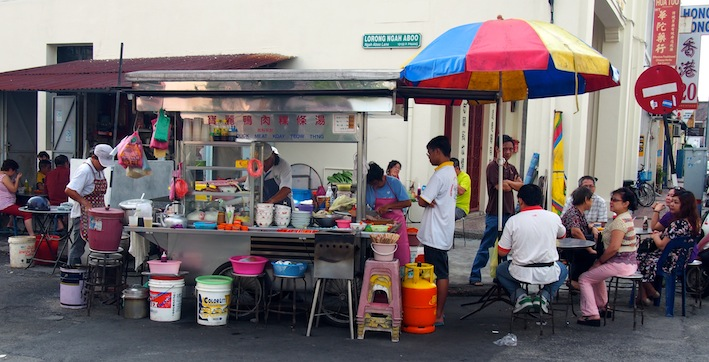 Hawker fare Penang Breakfast in Penang Relaxing in Penang