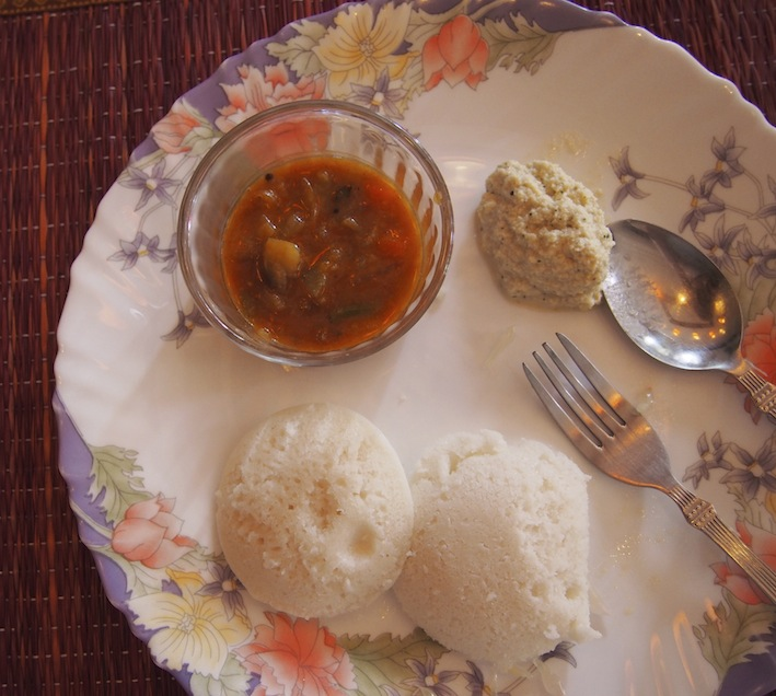 Idlis with Coconut Chutney, Indian Idli