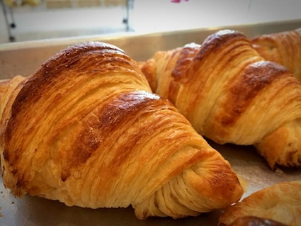 The baking Garage Croissants