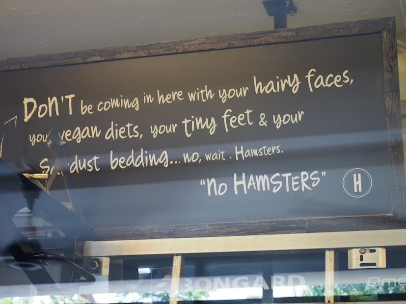 Quote from Huckleberry Finn at Huckleberry Food & Fare, Mark Twain, Huckleberry Cafe Kuala Lumpur,