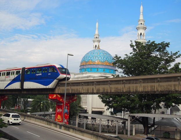 Monorail in Kuala Lumpur