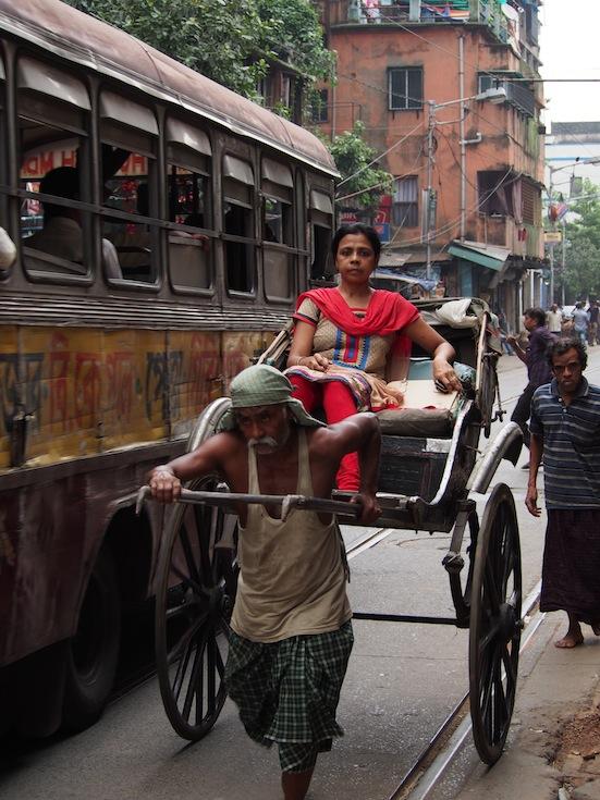Kolkata Rickshaw,Kolkata Tram,