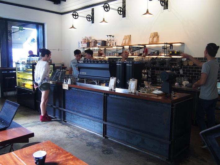 VCR Bukit Bintang Kuala Lumpur, Jalan Galloway Cafe VCR, Great Coffee at VCR K.L.