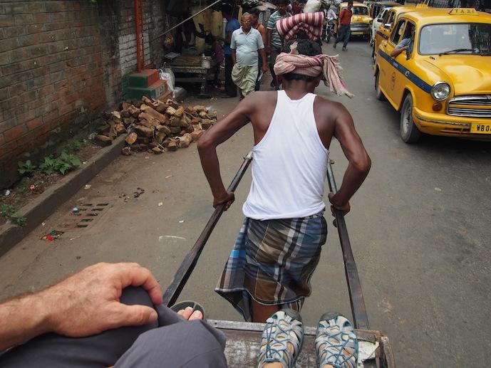 Rickshaw Wallah, Kolkata