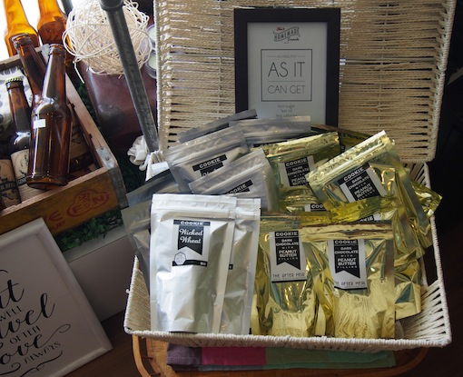 Hand Crafted Flower Teas at Shia's Granola Shop