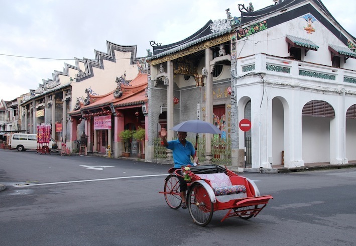 Heritage Penang, Trishaw Georgetown Penang, Temples, Prewar houses, Cozy in the Rocket, bicycle mural Penang, pasta, desserts Armenian St