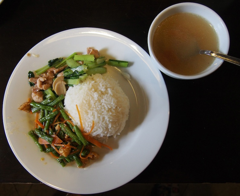 Guan Seang Lunch, NO MSG, Healthy local Food, Armenian St Cafes, Georgetown Penang