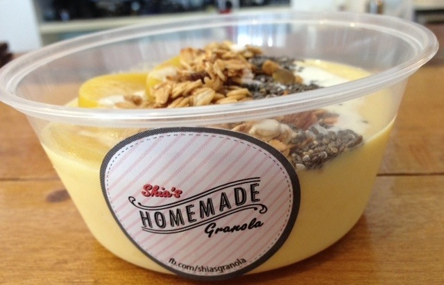 Shia's Homemade Granola, Mango Granola Bowl, Take away Granola Bowl, Healthy Snacks Penang