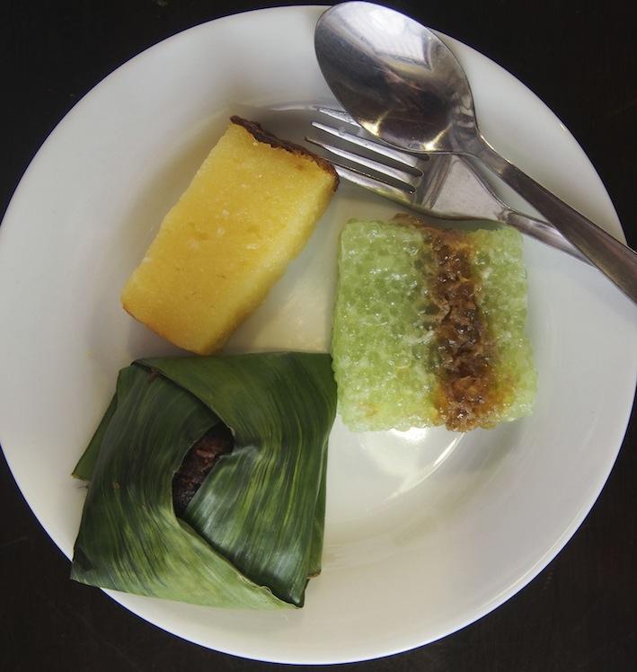 Merdeka Lunch Nyonya Kuih, Traditional Nyonya Dessert, Guan Seang cafe, Bicycle Mural Penang