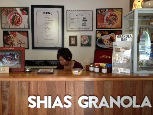 Homemade Granola Penang, Shia's cute shop,