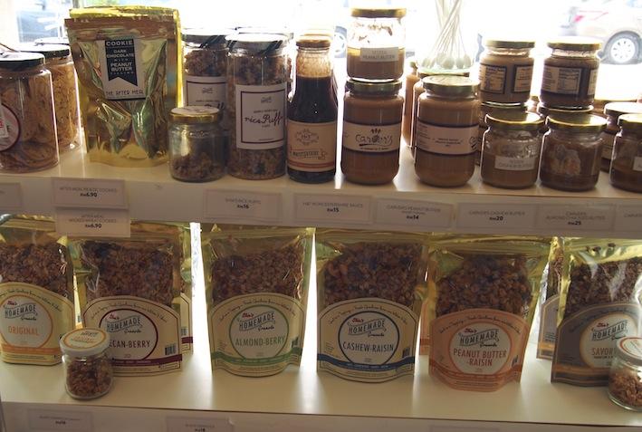Granola, Peanut Butter, Sauces, Shia's Granola Shop, Church St Gaut Penang