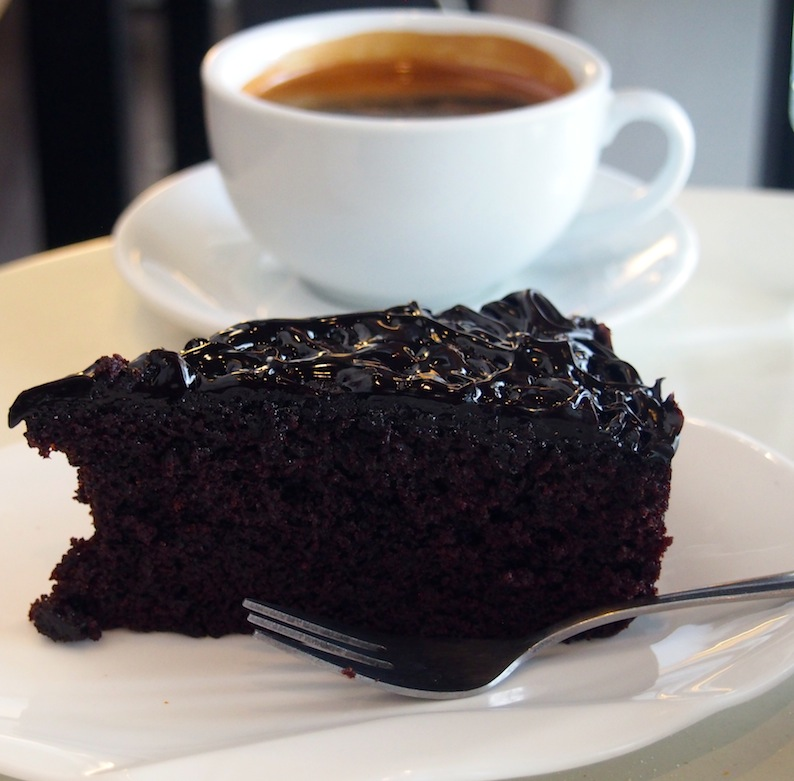 Cake & Coffee at Just Caffe Penang
