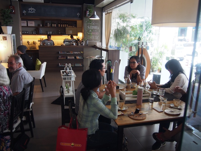 Happy Customers at Just Caffe Green Hall Penang