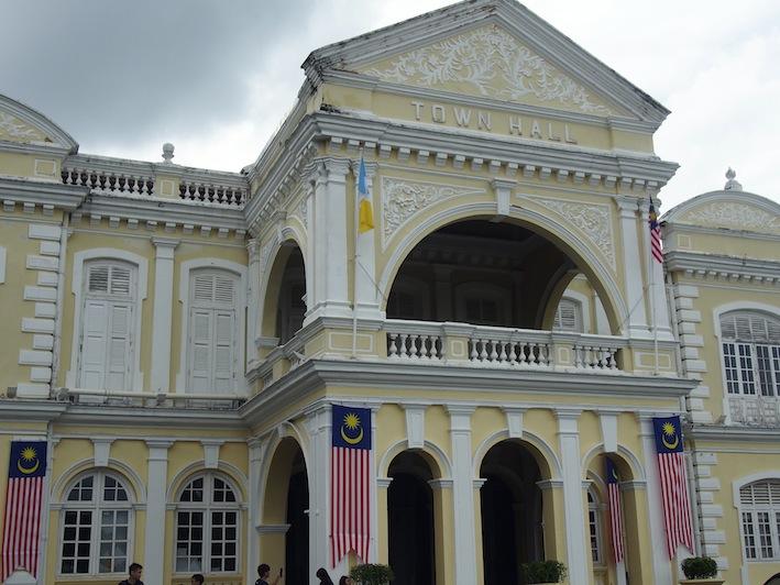 Town Hall George Town Penang, Esplanade Town Hall Penang